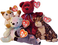 Ty Beanie Baby Babies® Tush and Swing Heart Tags 6b17d1284d0