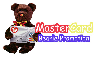 Master Card Ty Beanie Baby