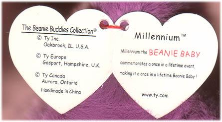 b498b31074e Millennium Millenium Ty Beanie Baby