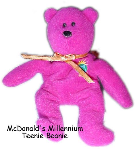 16e59c4c963 Millennium Millenium Ty Beanie Baby