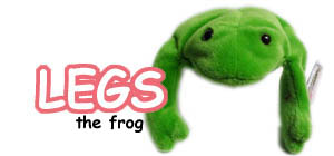 Legs the frog