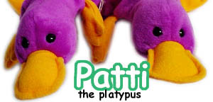Patti the Platypus