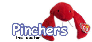 Pinchers the lobster