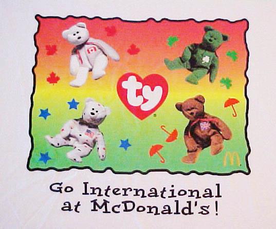 1999 McDonald s Teenie Beanies 78de2307668f